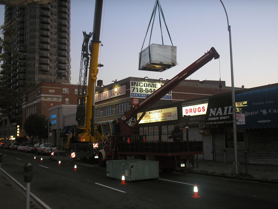 Commercial HVAC Installation NYC